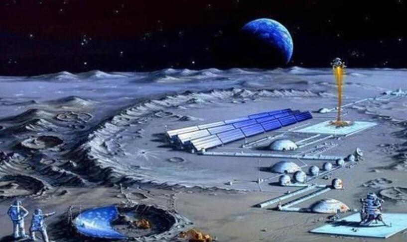 甩了美俄一条街,中国将率先在月球建立经济区,只剩最后一个条件_登月