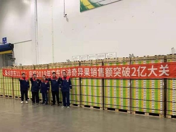 佳沛奇异果首发销售破2亿,京东生鲜成进口生鲜国内第一大线上首发平台
