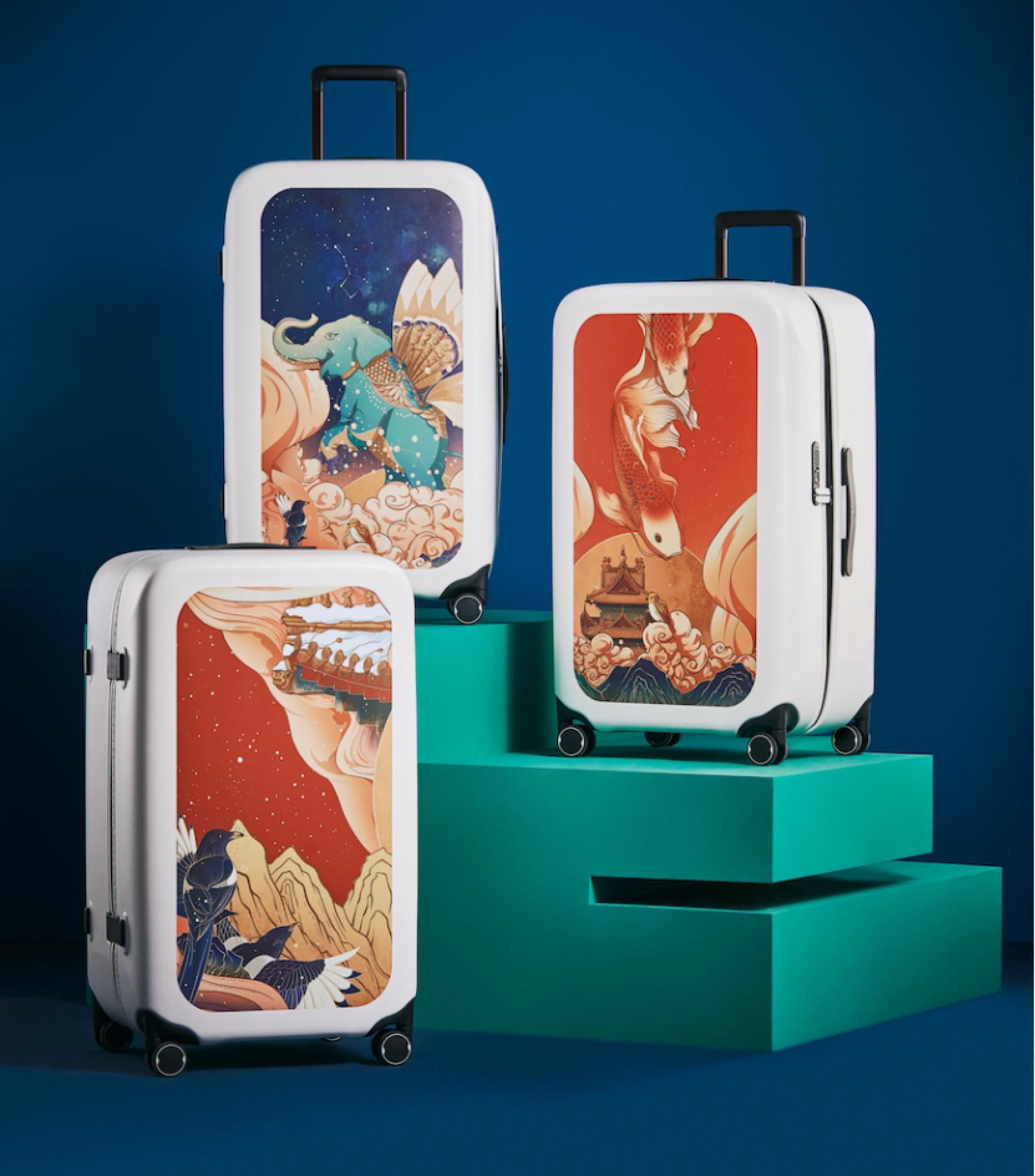 小米有品开卖《上新了故宫》款旅行箱众筹价格399元起