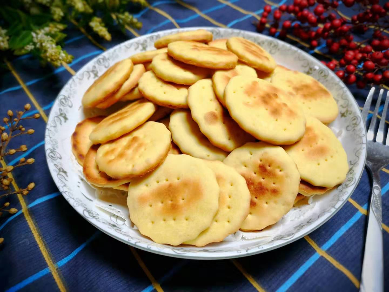 教你在家做饼干,不用黄油,不加水,不用烤箱,香