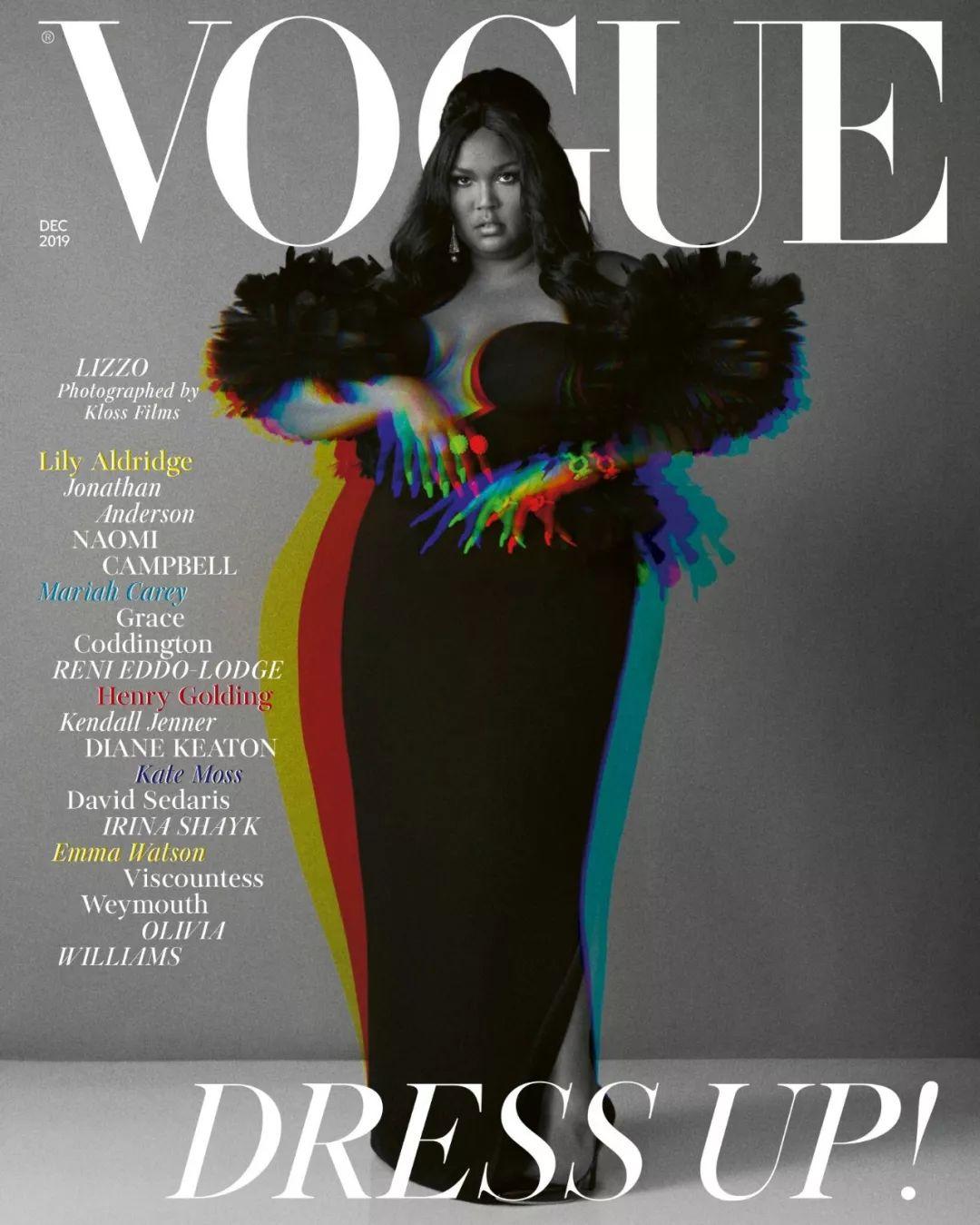 Lizzo登上英版VOGUE封面,嘻哈圈第一人!_Beyonc