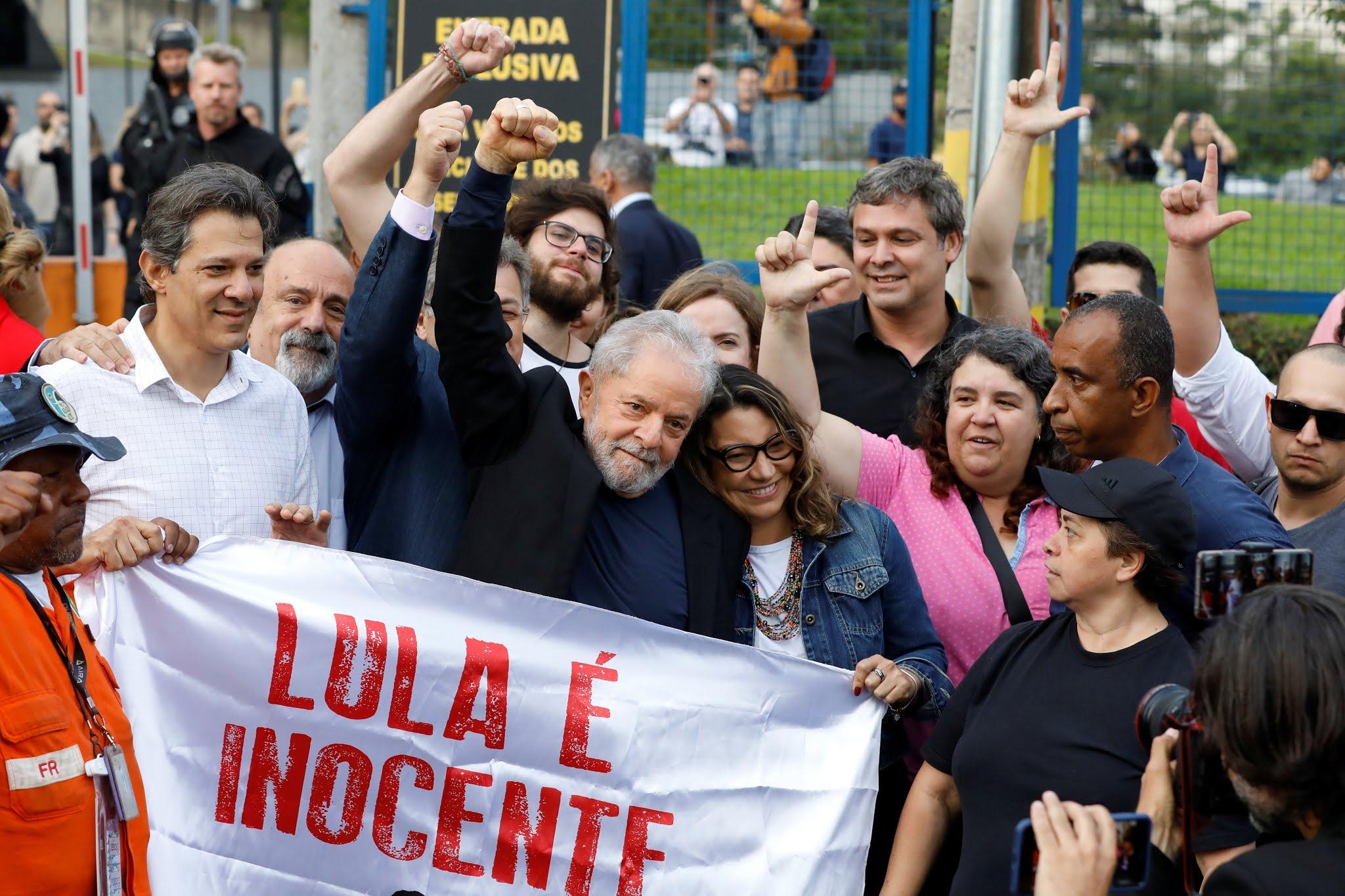 巴西前总统卢拉正式出狱