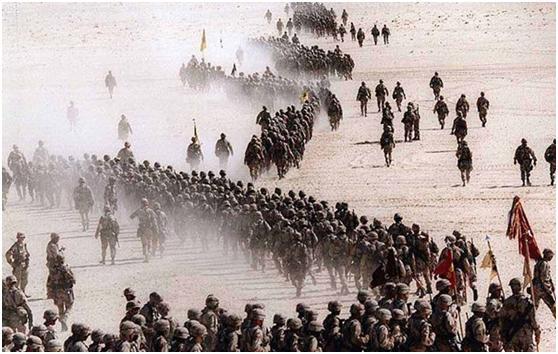 一场大战点醒了中国,6周时间摧毁几十万大军,差距之大超乎想象_美军