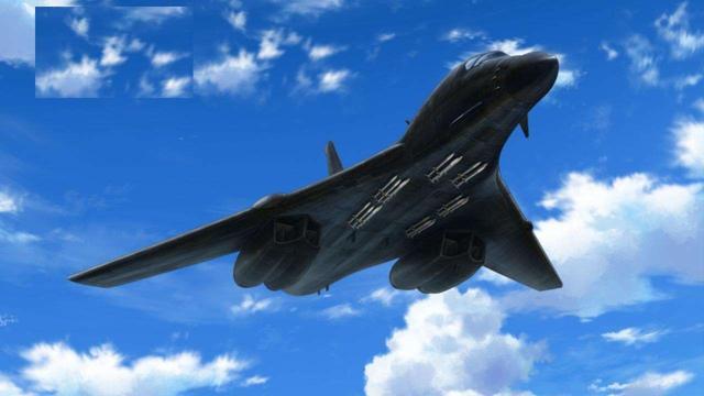 歼星舰武库机来了:一架飞机携带100枚导弹,开启野兽空战模式_美国空军