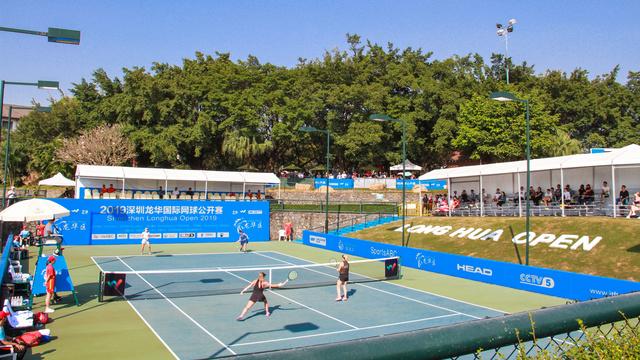深圳龙华国际网球公开赛开赛,彭帅朱琳将会师女单决赛_女双
