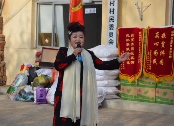 忻府区应急管理局、区安全应急志愿者协会积极开展安全生产宣传教育进农村活动