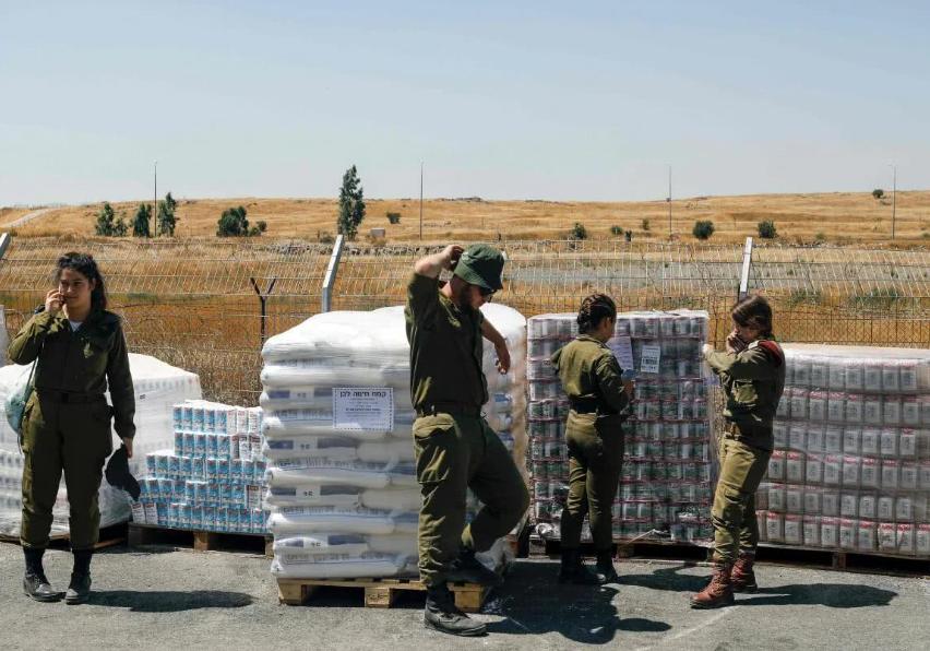 以色列送来大批援助,要帮助库尔德人打土耳其,这个决定值得称赞_武装