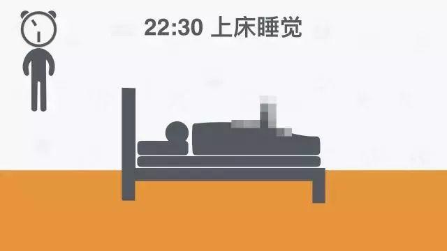 22:30 上床睡觉