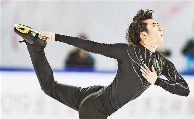 中国杯花滑男单冠军出炉金博洋首次夺冠