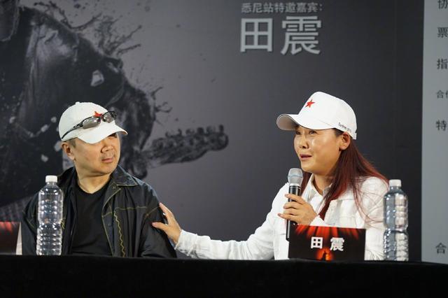歌手田震罕见现身,53岁的脸浮肿又沧桑,但起码很真实啊!_颜色