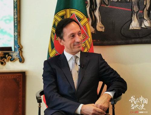 """葡萄牙驻华大使:我是中国高铁的""""粉丝""""_中欧新闻_欧洲中文网"""