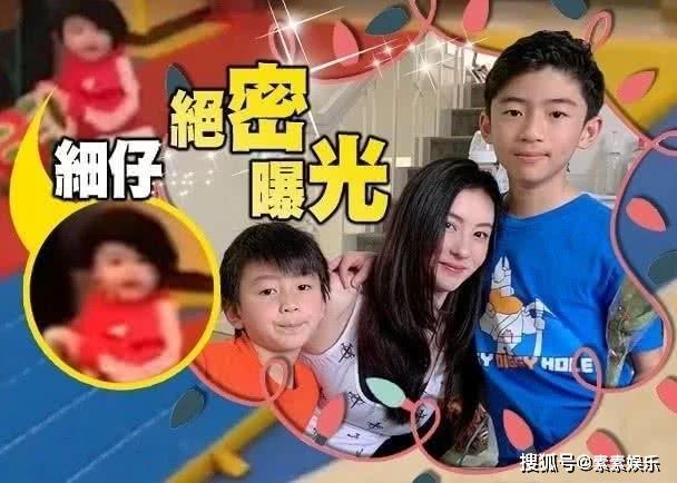 張柏芝母愛爆棚:陪二個大兒子打球,還給小兒子做營養餐