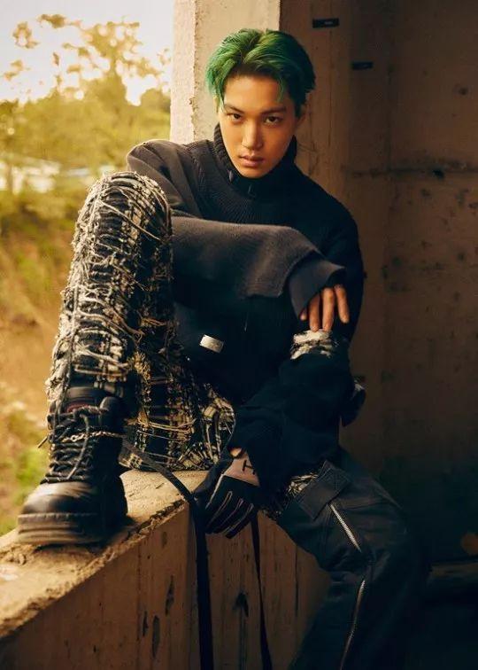 EXO正規6輯KAI個人預告公開!眼神展現強烈男性魅力
