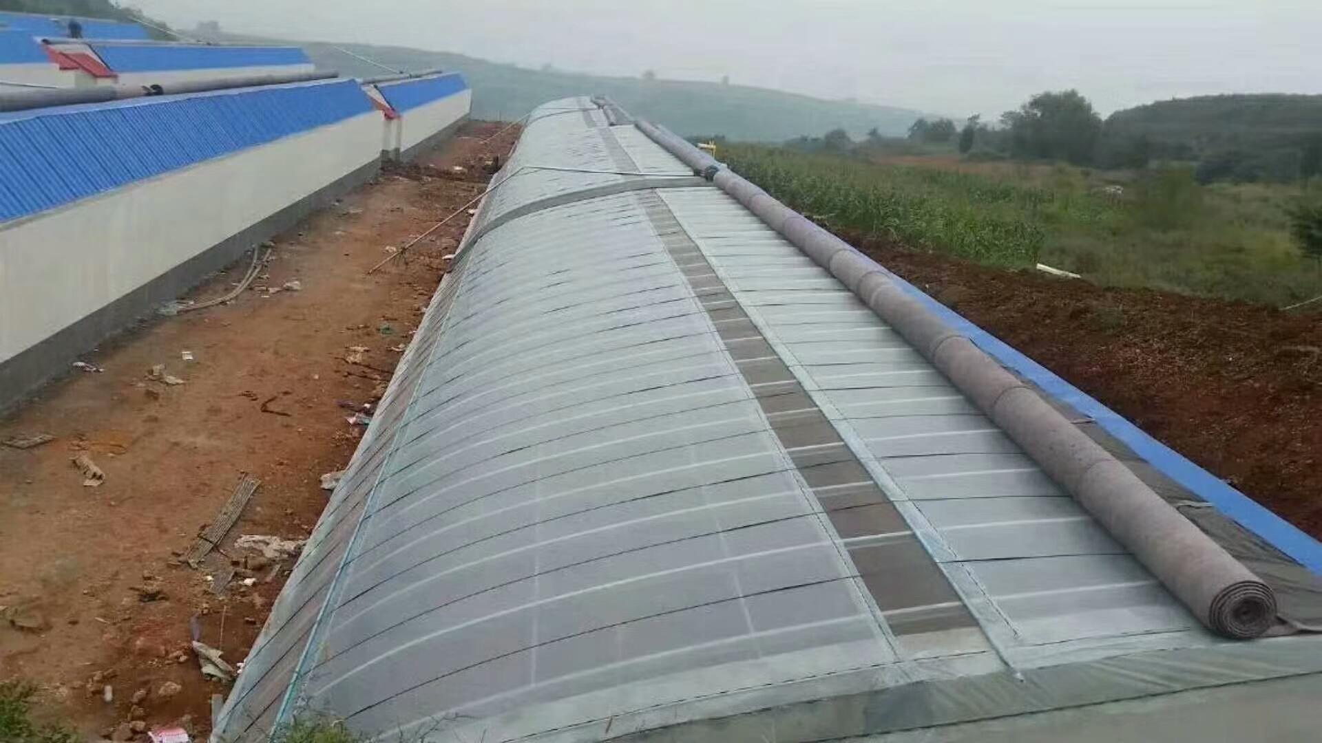 一种改良型秸秆砌块日光温室后墙的制作方法_X技术