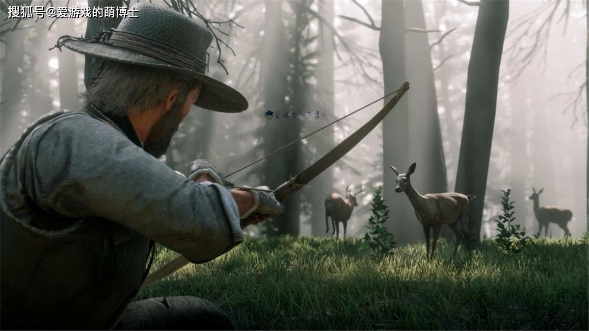 以动物视角体验西部世界,这个PC版《荒野大镖客2》模组很好玩