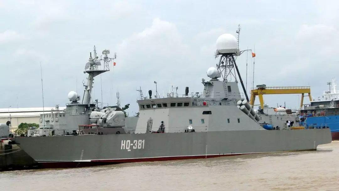 越南海军露出獠牙,四大金刚齐出,究竟剑指何方?