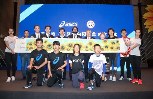 助力中国青少年体育运动发展,萨