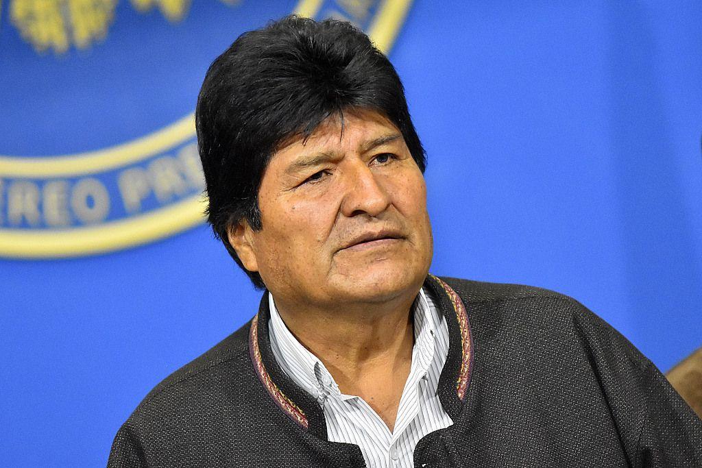被指在大选中欺诈,玻利维亚总统、副总统宣布辞职