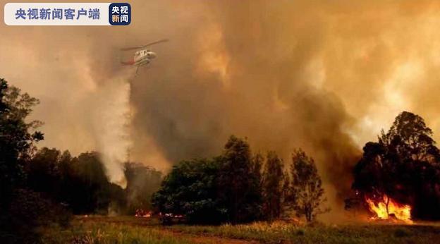 火势蔓延澳大利亚新南威尔士丛林大火致三人死亡