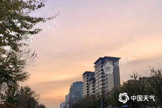 北京今日升温至20℃ 明天最低温下半年来首破冰点_气温