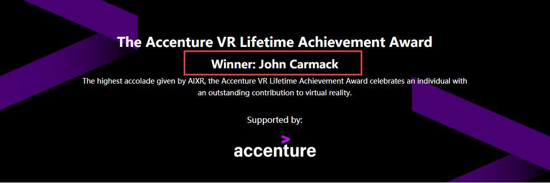 3D游戏之父获终身成就奖却直言VR现状不令人满意