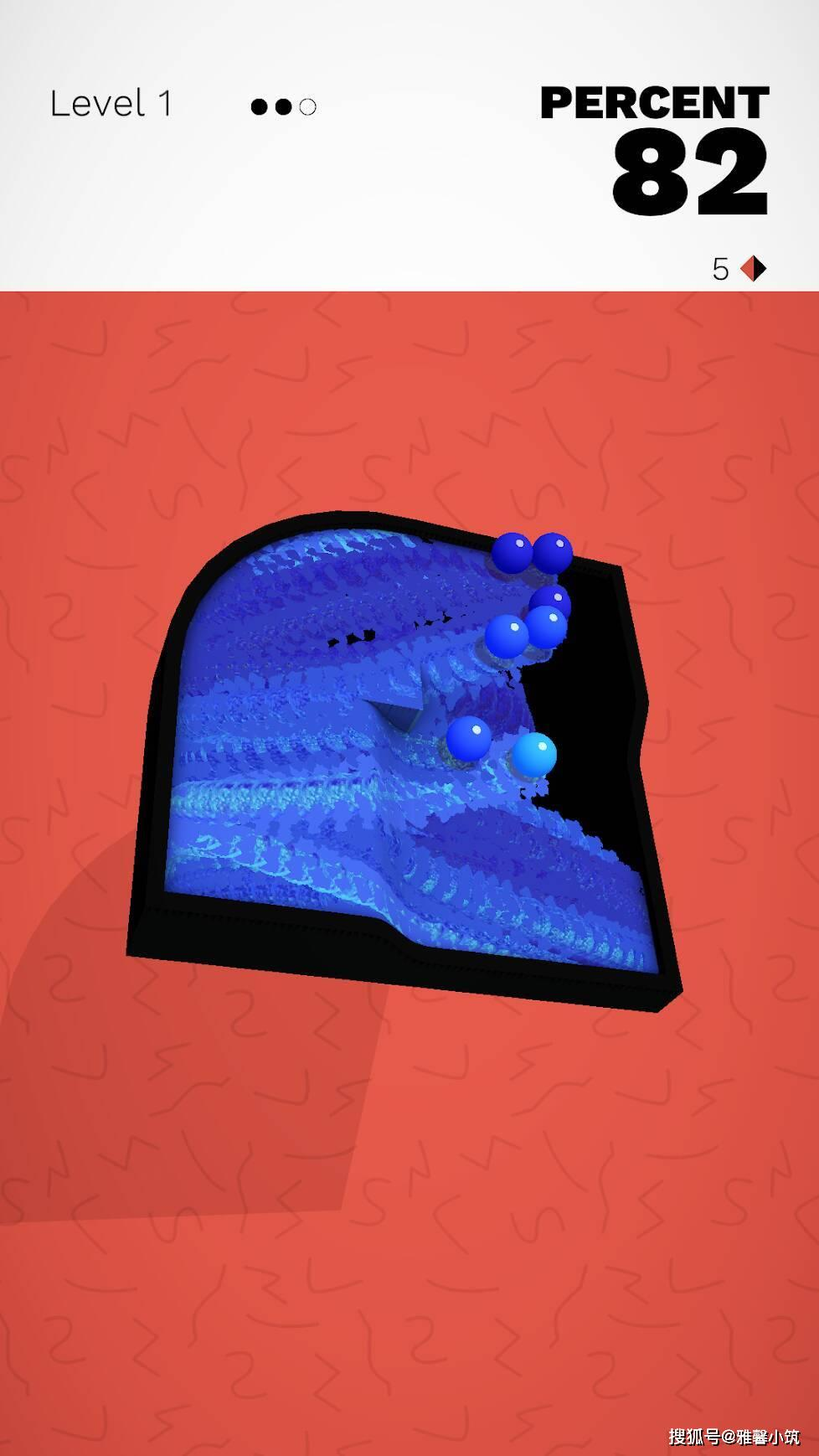 滚动小球益智上色游戏《Kolorit!》描绘属于自己的色彩