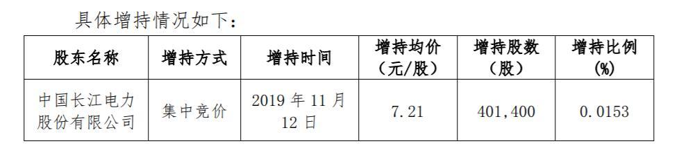 长江电力举牌上海电力 已是年内举牌第三只A股_雅砻江