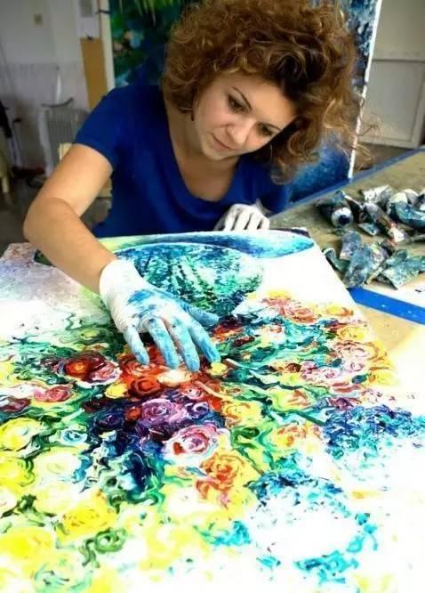指尖画家,艾瑞斯·斯科特