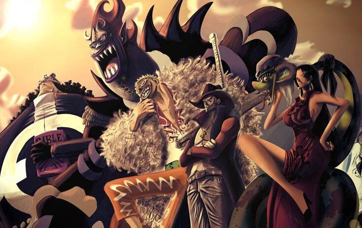 海贼王:为何七武海战力崩溃,尾田:我也不想啊,谁让这部动漫火了呢!_果实