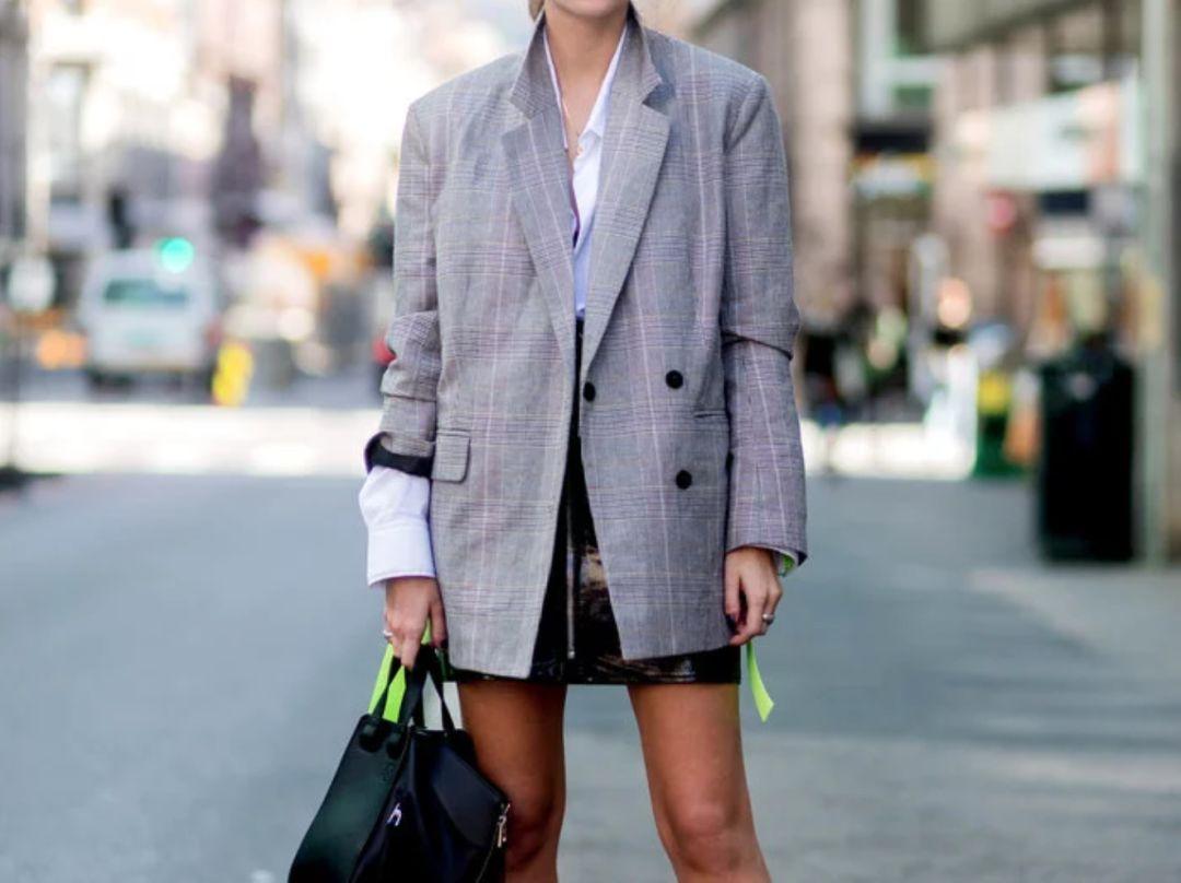 美丽冻人也要时髦兼备~叠穿大法很重要!_外套