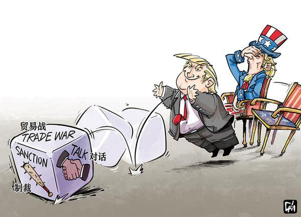"""美国霸权政策重创同盟?欧洲大国发话,怒斥白宫""""自私自利""""_中欧新闻_欧洲中文网"""