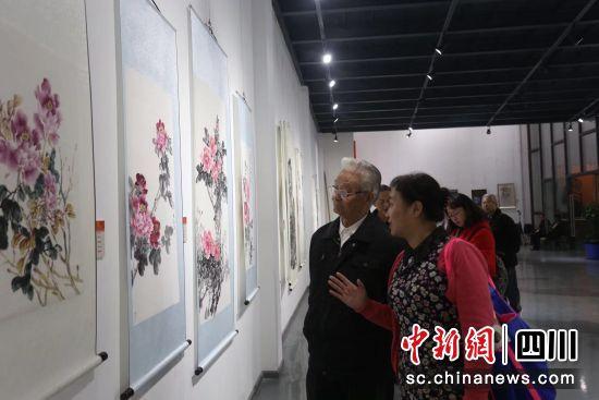 """成都高新区举办""""多彩成都·魅力高新""""书画作品展_展览"""