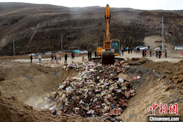 青海省查获64.73吨问题食品_西宁市
