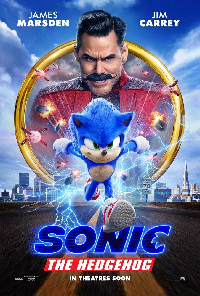 好莱坞真人动画电影《刺猬索尼克》发布全新预告及海报_凯瑞