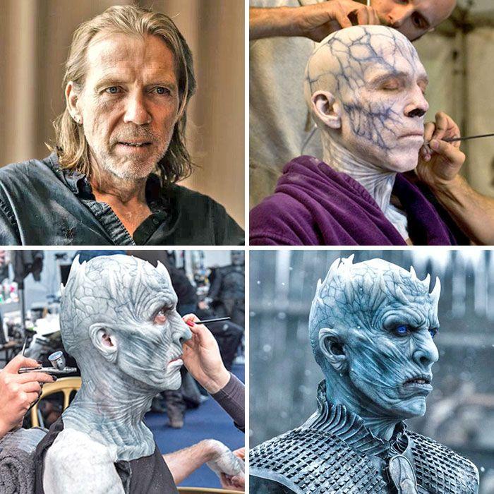 演员化妆前后差别有多大?来看看好莱坞的神级化妆术