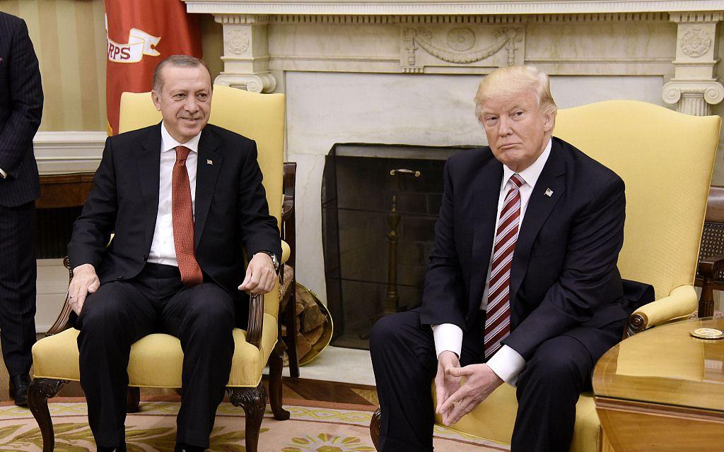 特朗普将在白宫会见埃尔多安,试图改善美土紧张关系_问题
