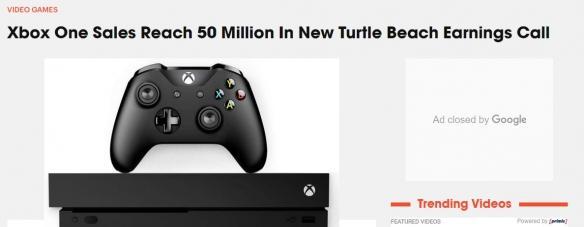 XboxOne销量已达5000万仅为PS4一半多方面遭吊打_主机