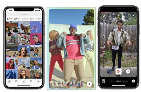 Instagram对标竞争对手TikTok推出新功能Reels