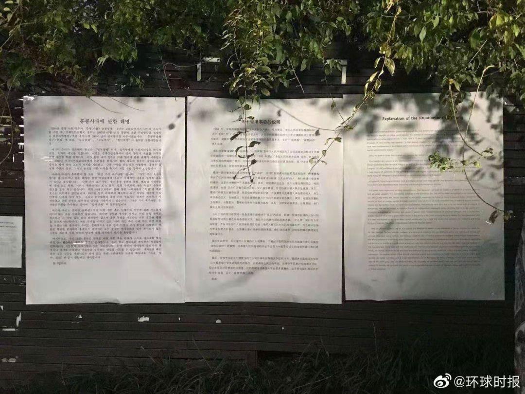 内地女学生撕港独海报后遭人肉,网友:我们挺你!_濠滨论坛