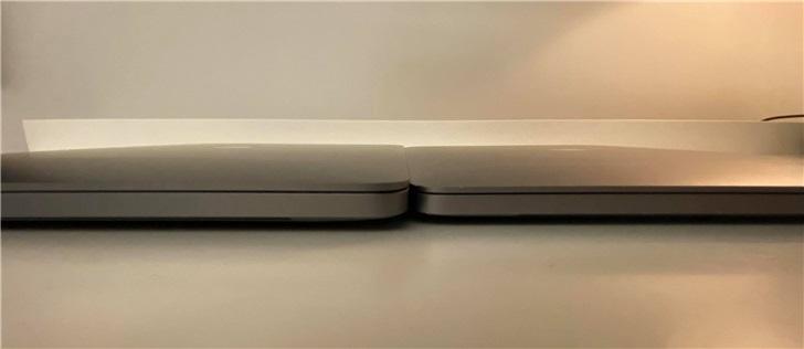 苹果16英寸与15英寸MacBookPro外观和细节对比
