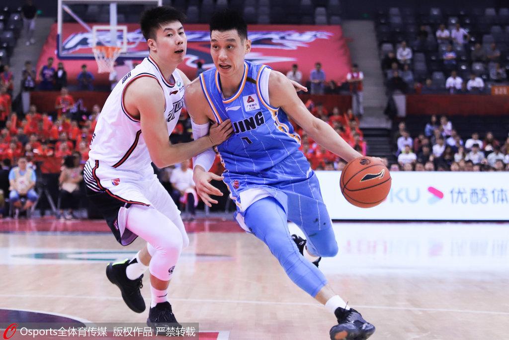林书豪28+9贺希宁6三分 北京负深圳遭赛季首败