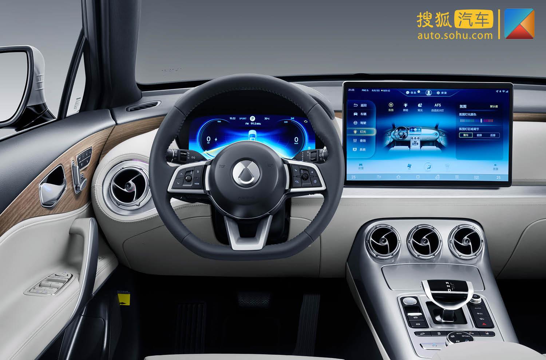 檔次感/未來感突出 騰勢X內飾官圖發布(第1頁) -