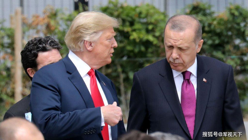 美国与土耳其关系紧张之际,两国总统在白宫会面