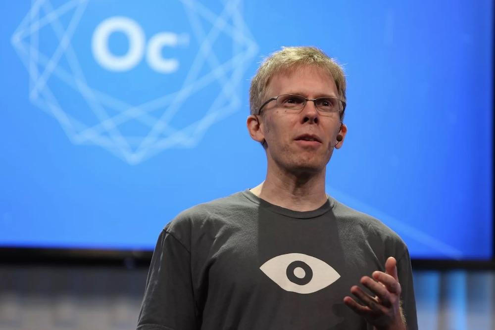 Oculus首席技术官JohnCarmack本周离职,未来将专注AI工作