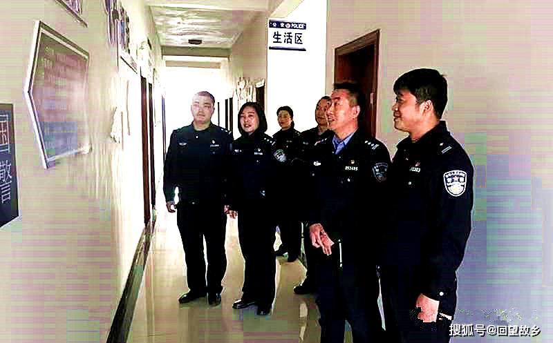 卢氏县公安局党委委员、政治处主任范志勇调研基层党建工作