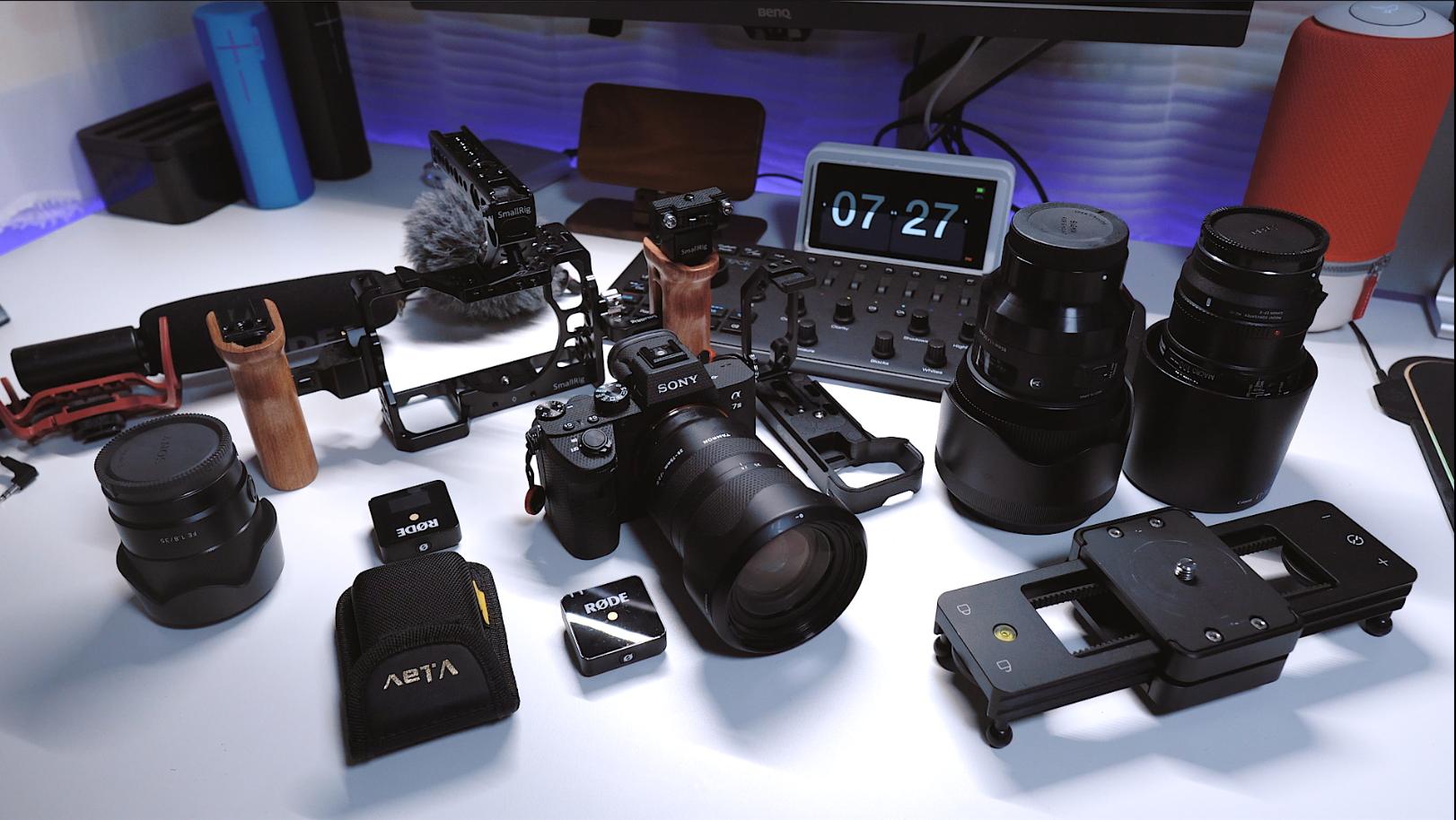 让A7M3更好用,我的相机配件大公开
