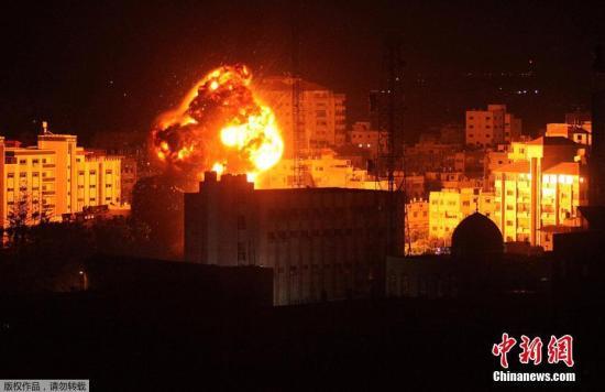 以色列对加沙地区发动袭击 已导致23人死69人伤
