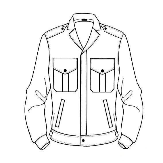 简笔画夹克衫,服装简笔画图片大全,怎么画夹克衫简笔画图片,儿童学画夹克衫的简单画法,衣服简笔画素材.