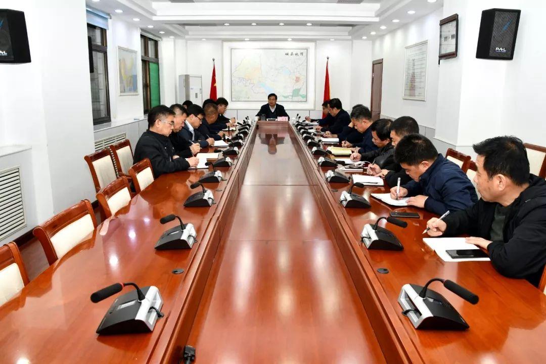 邯郸磁县县委书记张才芳专题调度督导路域拆违和环境整治工作