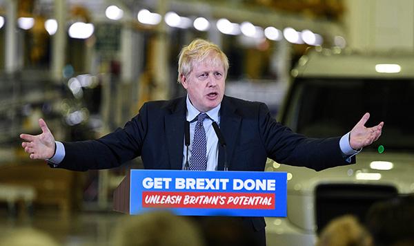 英国大选前民调:保守党支持率领先反对党工党10个百分点